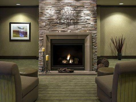 Above Fireplace Mantel Ideas Amys Office