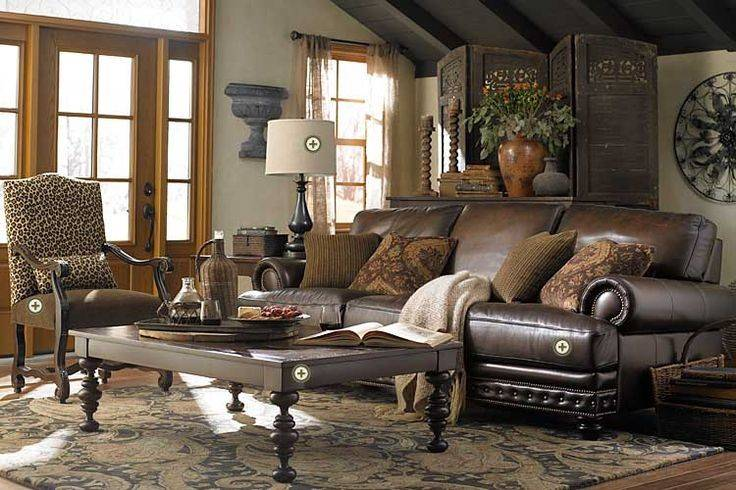 Accent Chair Match Brown Leather Sofa