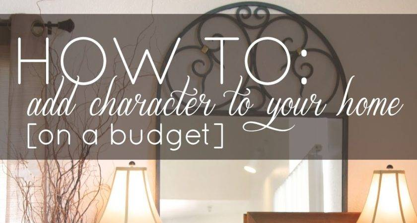Add Character Your Home Budget Simply Ciani
