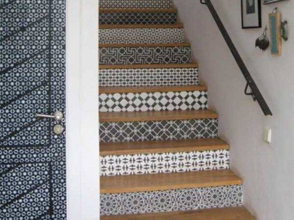 Adding Beautiful Stairs Risers Original