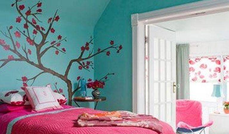 Adorable Pink Blue Bedroom Girls Rilane