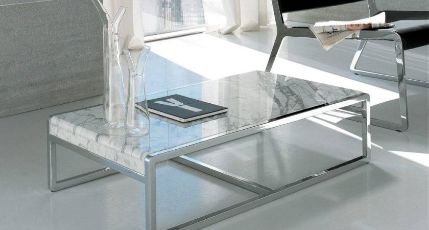 Alivar Coffee Table Contemporary Marble Tables