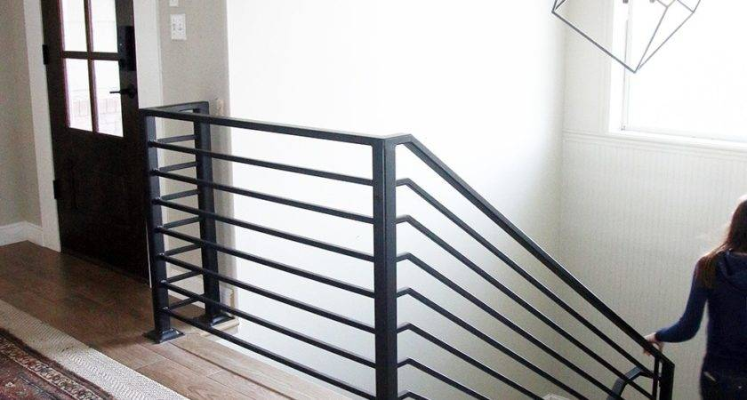 All Details Our New Horizontal Stair Railing