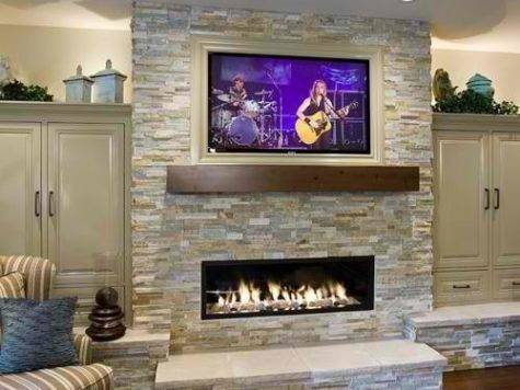 Amazing Above Fireplace Design Ideas Decoholic