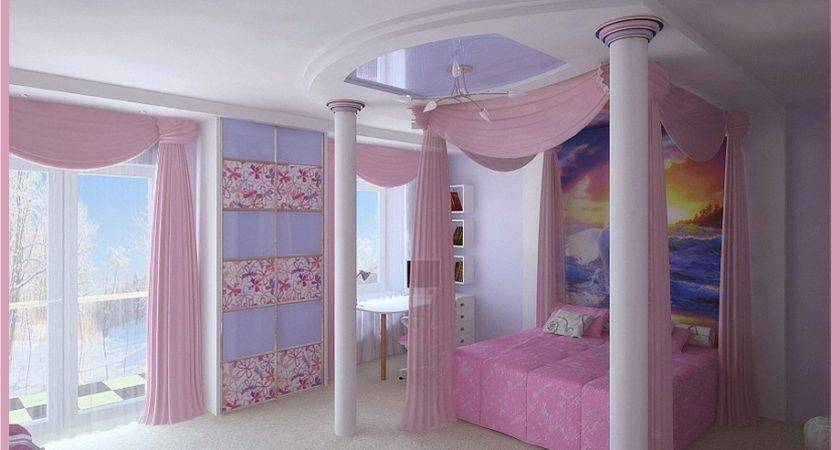 Amazing Bedroom Pink Girl Irina Silka Olpos