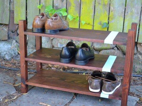 Ana White Convertible Shoe Rack Diy Projects