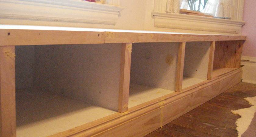 Ana White Window Seat Built Diy Projects