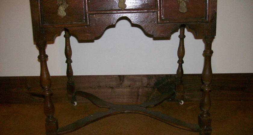 Antique Furniture Early Side Table Primitive