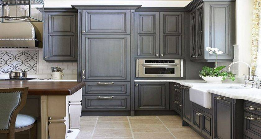 Antique Grey Kitchen Cabinets Including