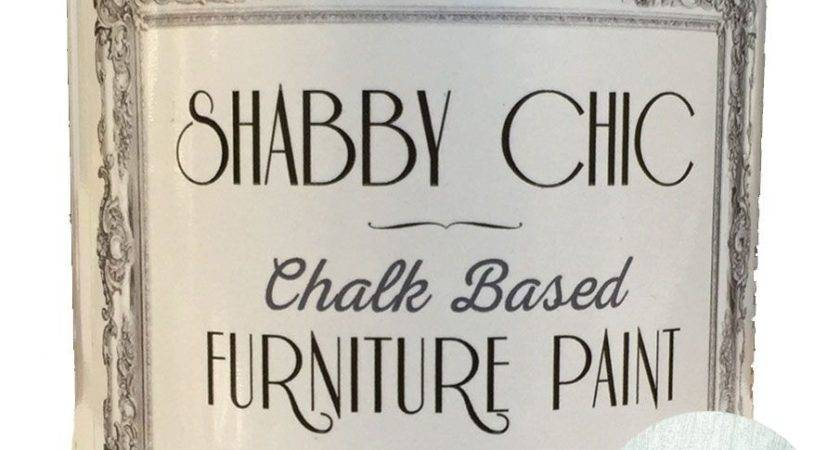 Antique Silver Shabby Chic Furniture Chalk Paint