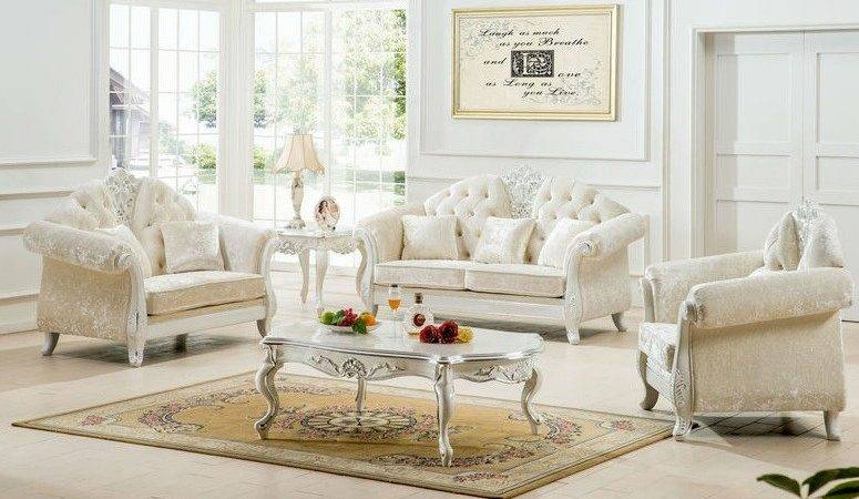 Antique White Living Room Furniture Ideas Decolover