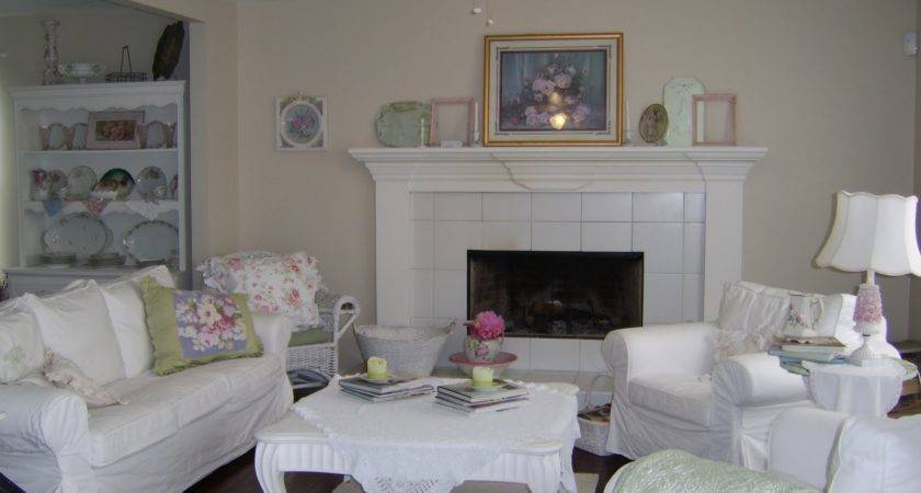 Anything Shabby Chic Living Room