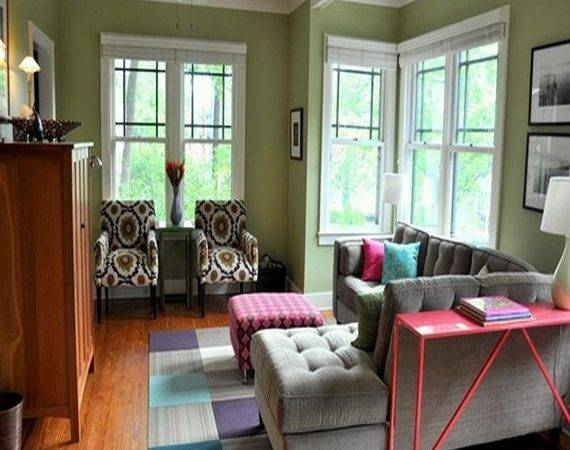 Apartment Couch Ideas Best Green Paint Colors Living