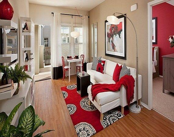 Apartment Living Room Furniture Dining Small