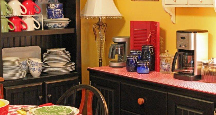 Aris Whittier Blog Home Coffee Station April