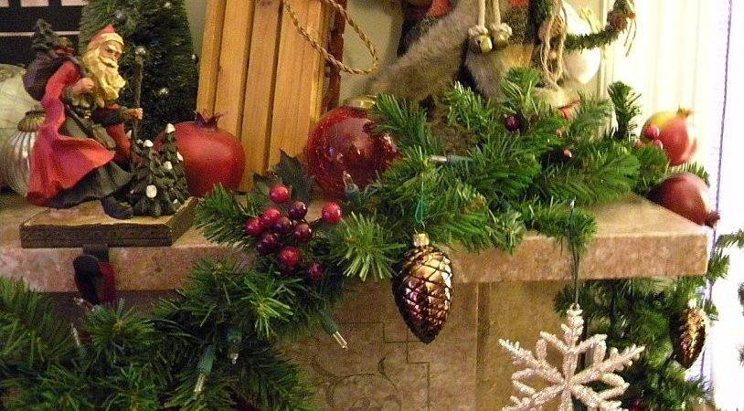 Art Crafts Decor Cherries Country Christmas