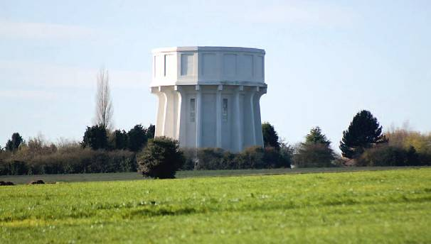 Art Deco Water Tower Conversion