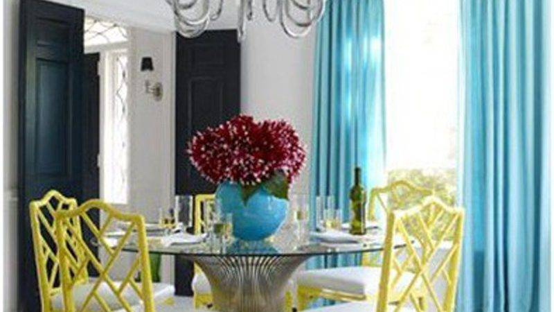 Awesome Colorful Dining Room Design Ideas