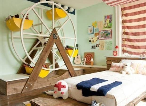 Awesome Kids Bedrooms Big Wheel Dump Day