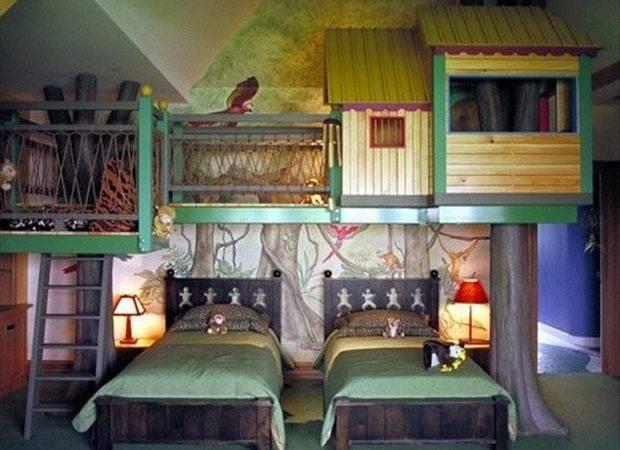 Awesome Kids Bedrooms Tree House Room Dump Day