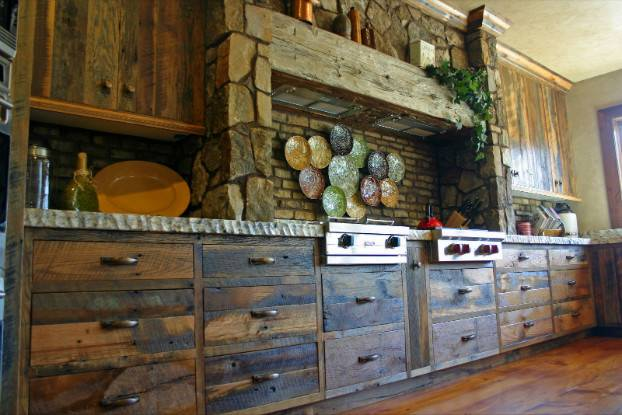 Awesome Kitchen Designs Indoor Built Grill