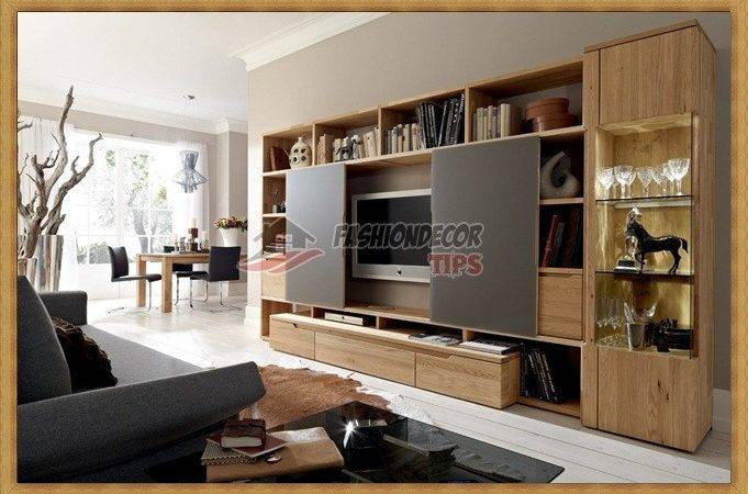 Awesome Living Room Decor Wall Units Ideas