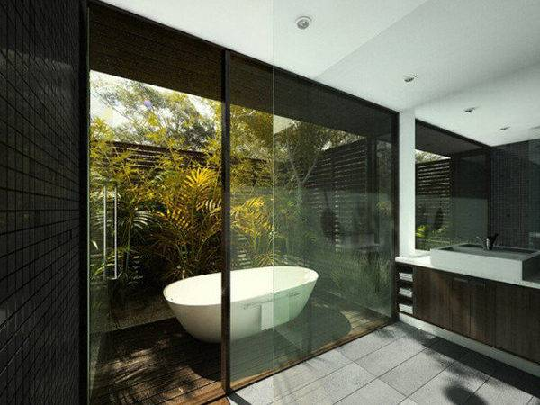Awesome Natural Bathroom Designs