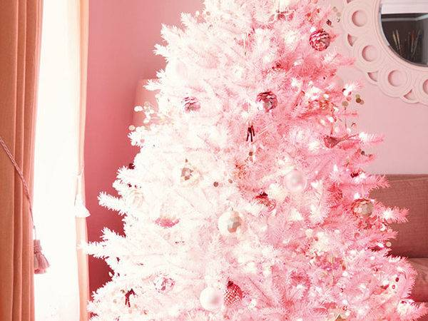 Awesome Pink Christmas Tree Ideas Home Design