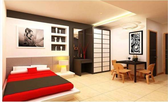 Awesome Studio Type House Interior Design Rbservis