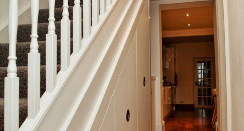 Awesome Under Stair Shelves Storage Space Ideas