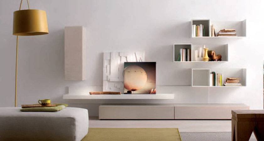 Awesome White Living Room Wall Units Cubicles Shelves