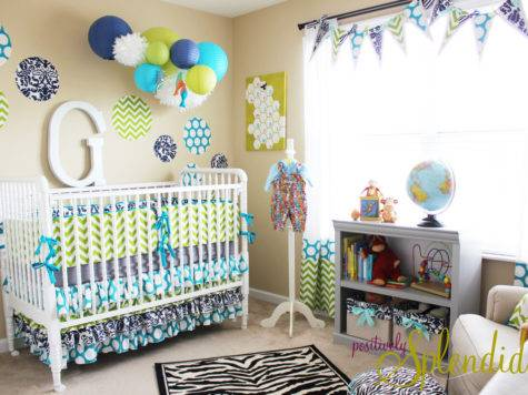 Baby Boy Nursery Decor Best Decoration