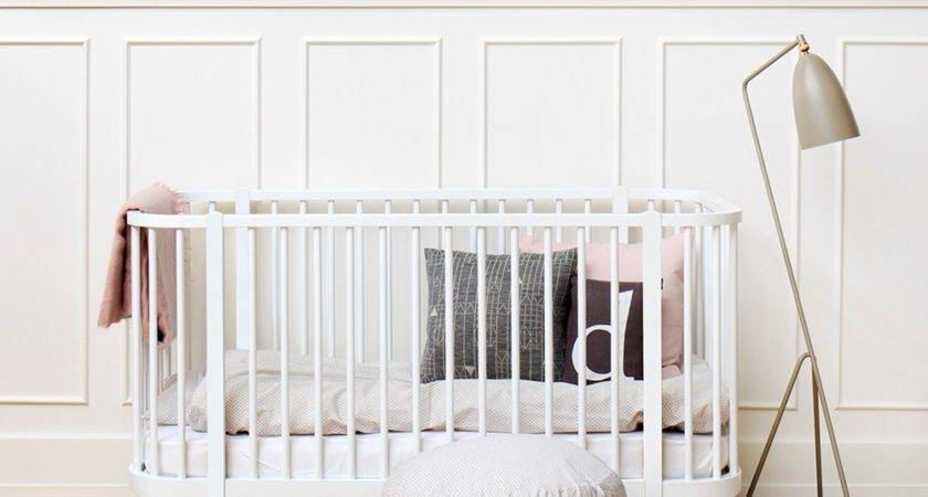 Baby Toddler Luxury Wood Cot Bed White Cots