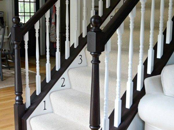 Banister Restyle Java Gel Stain General Finishes