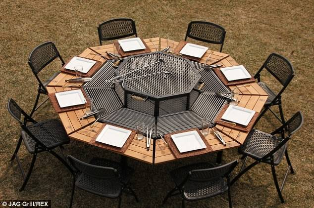 Barbecue Picnic Table Means Everyone Can Play