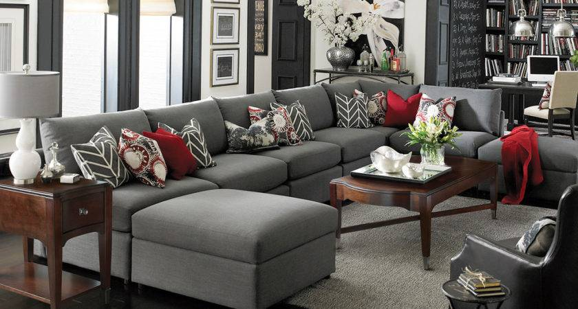 Bassett Furniture Living Room Contemporary Den