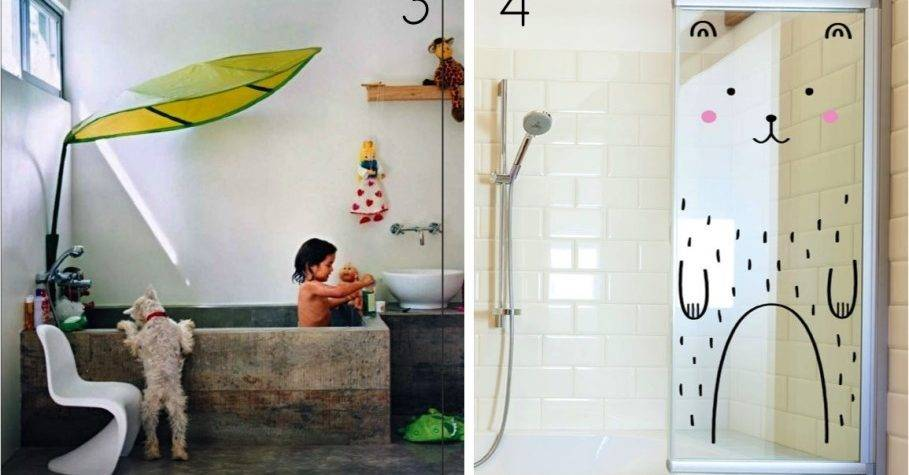 Bathroom Colorful Fun Ideas White