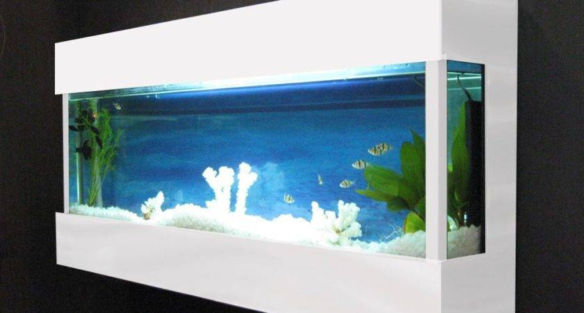 Bayshore Aquarium Wall Mounted Design Ideas