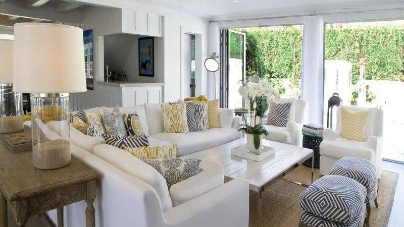 Beach Style Decorating Living Room Facemasre