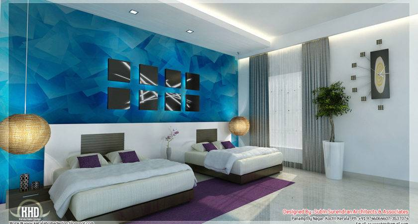 Beautiful Bedroom Interior Designs Kerala House Design