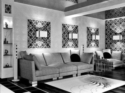 Beautiful Black Silver Living Room Ideas Inspire