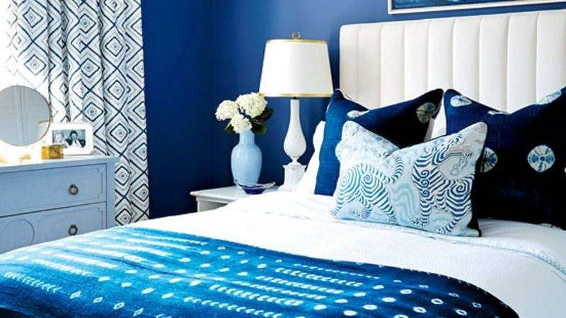 Beautiful Blue Bedrooms Style Home