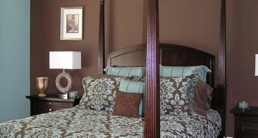 Beautiful Blue Brown Bedroom Your