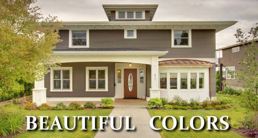 Beautiful Colors Exterior House Paint Choosing Also