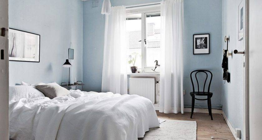 Beautiful Light Blue Paint Bedroom Home Designs Ideas