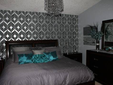 Beautiful Teal Bedrooms Silver Bedroom Home