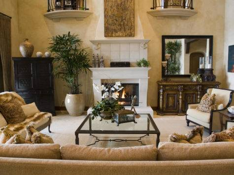 Beautifully Decorated Living Room Designs