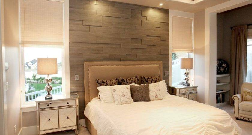 Bedroom Accent Wall Contemporary