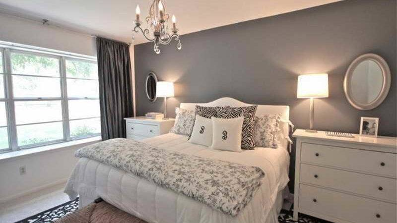 Bedroom Apply Grey Ideas Relax Room