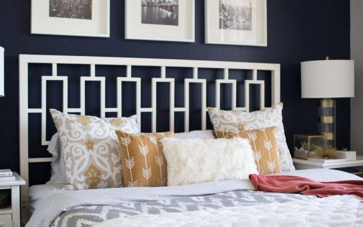 Bedroom Classy Blue Grey Charcoal Paint